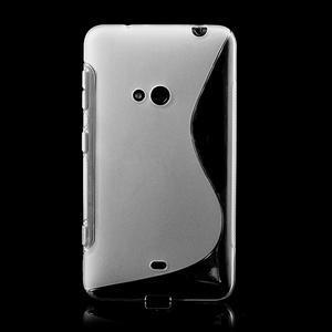 Gelové S-line pouzdro pro Nokia Lumia 625- transparentní - 2