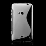 Gelové S-line pouzdro pro Nokia Lumia 625- transparentní - 2/7