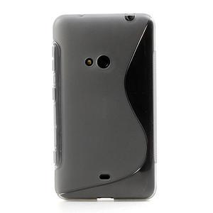 Gelové S-line pouzdro pro Nokia Lumia 625- šedé - 2