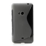 Gelové S-line pouzdro pro Nokia Lumia 625- šedé - 2/5