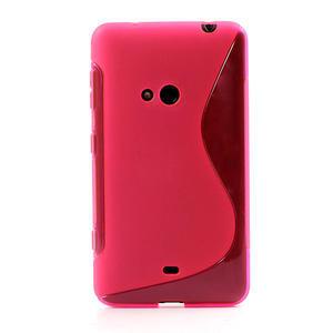 Gelové S-line pouzdro pro Nokia Lumia 625- růžové - 2
