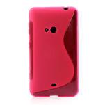 Gelové S-line pouzdro pro Nokia Lumia 625- růžové - 2/6