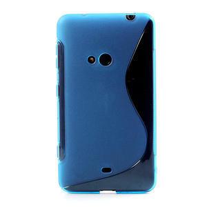 Gelové S-line pouzdro pro Nokia Lumia 625- modré - 2
