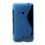 Gelové S-line pouzdro pro Nokia Lumia 625- modré - 2/6