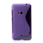 Gelové S-line pouzdro pro Nokia Lumia 625- fialové - 2/6