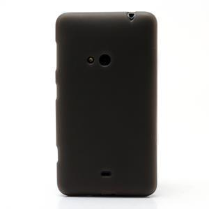 Gelové matné pouzdro pro Nokia Lumia 625- šedé - 2