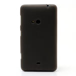 Gelové matné pouzdro pro Nokia Lumia 625- šedé - 2/5