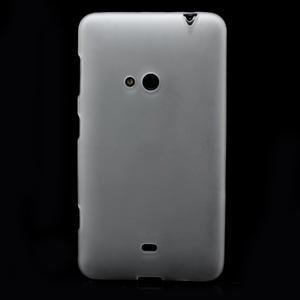Gelové matné pouzdro pro Nokia Lumia 625- bílé - 2