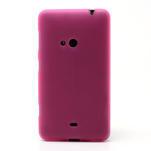Gelové matné pouzdro pro Nokia Lumia 625- růžové - 2/5