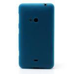 Gelové matné pouzdro pro Nokia Lumia 625- světlemodré - 2/5