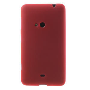 Gelové matné pouzdro pro Nokia Lumia 625- červené - 2