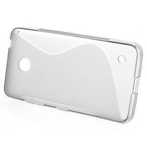Gelové S-line pouzdro na Nokia Lumia 630- šedé - 2