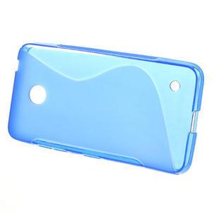 Gelové S-line pouzdro na Nokia Lumia 630- modré - 2