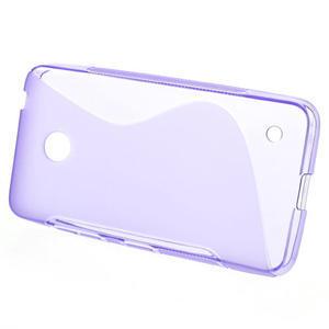 Gelové S-line pouzdro na Nokia Lumia 630- fialové - 2