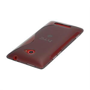 Gelové S-line pouzdro pro HTC Windows phone 8X- šedé - 2