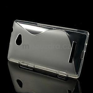 Gelové S-line pouzdro pro HTC Windows phone 8X- transparentní - 2