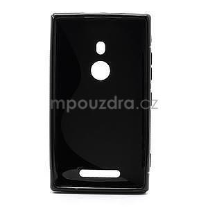 Gelové S-liné pouzdro pro Nokia Lumia 925- černé - 2