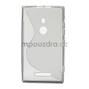 Gelové S-liné pouzdro pro Nokia Lumia 925- šedé - 2