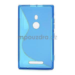 Gelové S-liné pouzdro pro Nokia Lumia 925- modré - 2