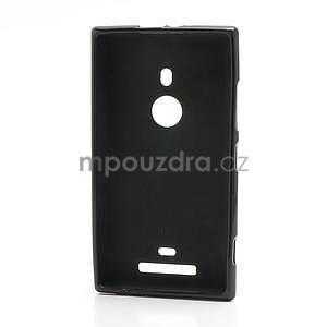Gelové matné pouzdro pro Nokia Lumia 925- černé - 2