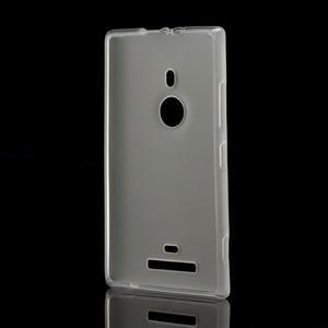 Gelové matné pouzdro pro Nokia Lumia 925- bílé - 2