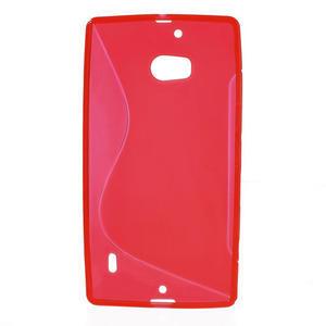 Gelové S-line pouzdro na Nokia Lumia 930- červené - 2