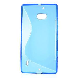 Gelové S-line pouzdro na Nokia Lumia 930- modré - 2