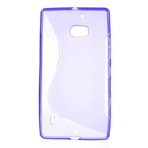 Gelové S-line pouzdro na Nokia Lumia 930- fialové - 2