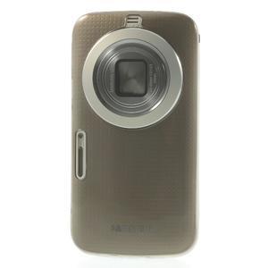 Gelové Ultraslim pouzdro na Samsung Galaxy K Zoom- šedé - 2