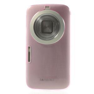 Gelové Ultraslim pouzdro na Samsung Galaxy K Zoom- růžové - 2