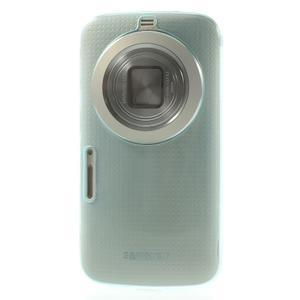 Gelové Ultraslim pouzdro na Samsung Galaxy K Zoom- světlemodré - 2