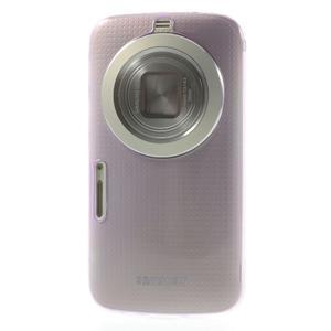Gelové Ultraslim pouzdro na Samsung Galaxy K Zoom- fialové - 2