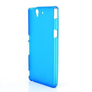 Gelové pouzdro na Sony Xperia Z L36i C6603- modré - 2