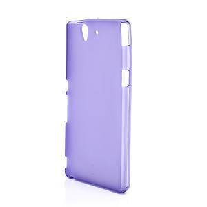 Gelové pouzdro na Sony Xperia Z L36i C6603- fialové - 2