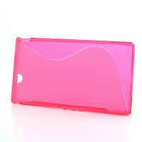 Gelove S-line pouzdro na Sony Xperia Z ultra- růžové - 2/5