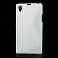 Gelové S-line pouzdro na Sony Xperia Z1 C6903 L39- bílé - 2/5