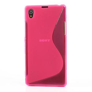 Gelové S-line pouzdro na Sony Xperia Z1 C6903 L39- růžové - 2