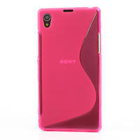 Gelové S-line pouzdro na Sony Xperia Z1 C6903 L39- růžové - 2/5