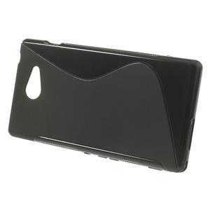 Gelové S-line pouzdro na Sony Xperia M2 D2302- černé - 2