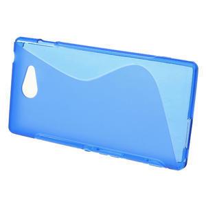 Gelové S-line pouzdro na Sony Xperia M2 D2302- modré - 2