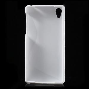 Gelové S-line pouzdro na Sony Xperia Z2 D6503- bílé - 2