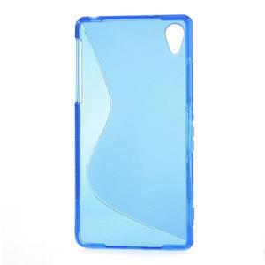 Gelové S-line pouzdro na Sony Xperia Z2 D6503- modré - 2