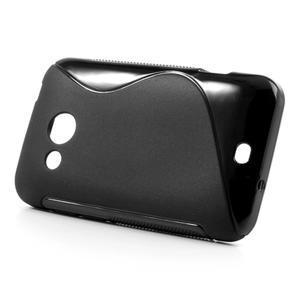Gelové S-line pouzdro pro HTC Desire 200- černé - 2