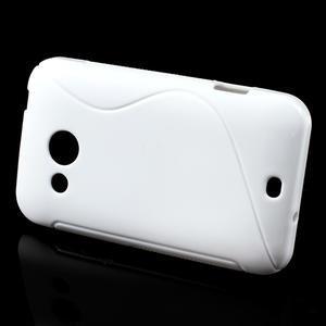 Gelové S-line pouzdro pro HTC Desire 200- bílé - 2