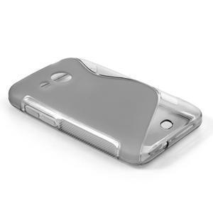 Gelové S-line pouzdro pro HTC Desire 200- šedé - 2