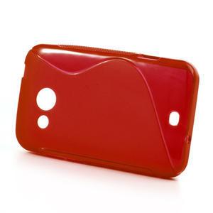 Gelové S-line pouzdro pro HTC Desire 200- červené - 2