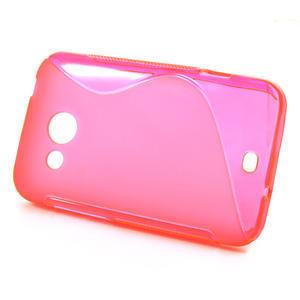 Gelové S-line pouzdro pro HTC Desire 200- růžové - 2