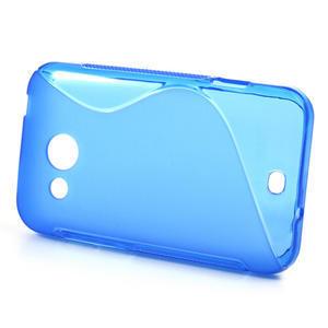 Gelové S-line pouzdro pro HTC Desire 200- modré - 2
