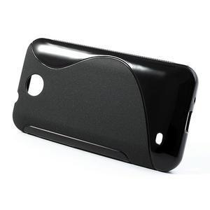 Gelové S-line pouzdro pro HTC Desire 300 Zara mini- černé - 2