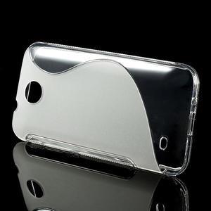 Gelové S-line pouzdro pro HTC Desire 300 Zara mini- transparentní - 2